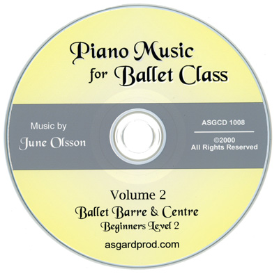 Piano Music for Ballet Class Vol 2 CD