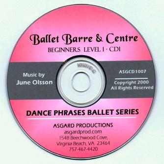 Ballet Barre & Center - Beginners Level I CD