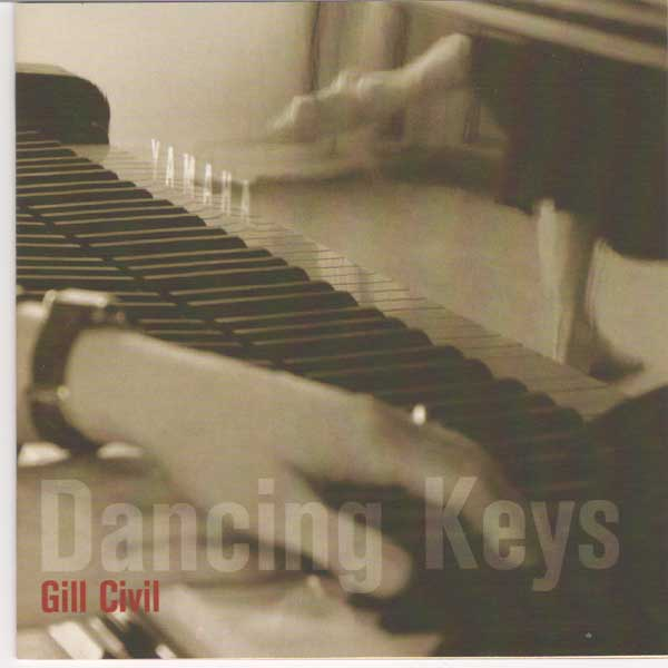 Dancing Keys by Gill Civil  - Ballet and Children's music CD