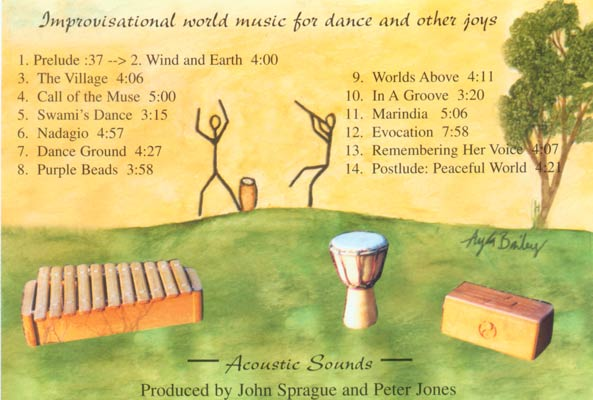 Dancing Worlds backcover