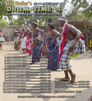 Drum Time 4 CD backcover