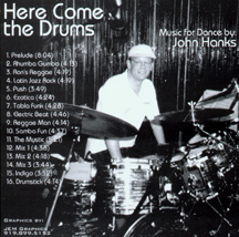 Here Come The Drums inside cover