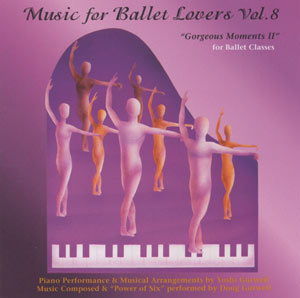 Music for Ballet Lovers - Vol 8 CD Cover - by Yoshi Gurwell