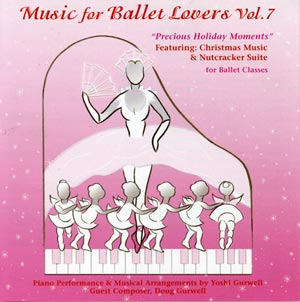 Music for Ballet Lovers - Vol 7 CD Cover - by Yoshi Gurwell