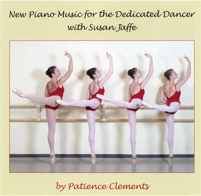 New Piano Music for the Dedicated Dancer with susan Jaffee -  CD cover