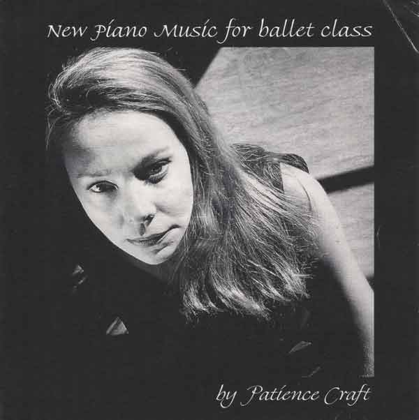 New Piano Music for Ballet Class -  CD cover