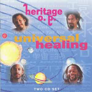Universal Healing - CD cover
